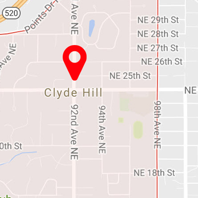 Clyde Hill Carpet Cleaning Map